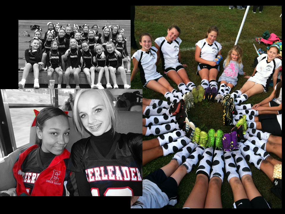 cheer and field hockey