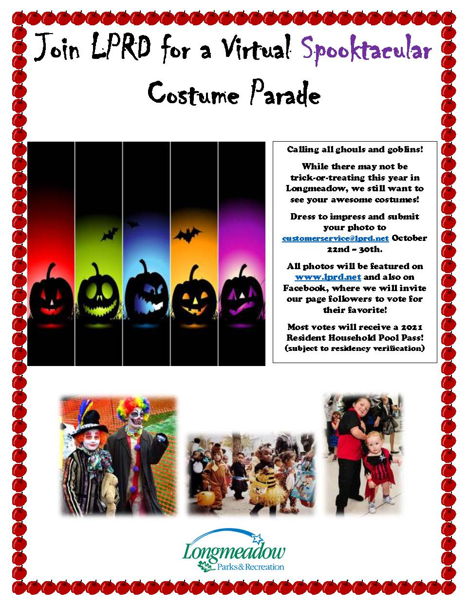 Join LPRD for a Virtual Spooktacular Costume Parade_v1